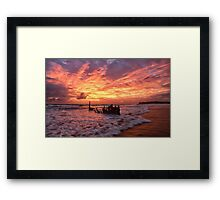 An Unforgettable Dawn at the Dicky Framed Print