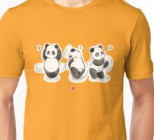 Panda Food Dance Unisex T-Shirt