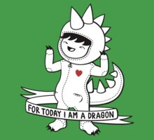 For today I am a dragon Kids Clothes