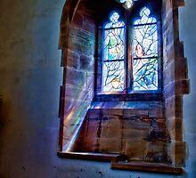 All Saints Church Tudeley - Chagall Window by Dave Godden