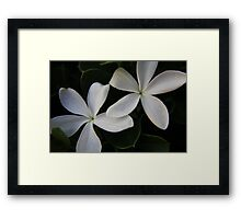 I Close My Eyes and He Has Found Me Framed Print