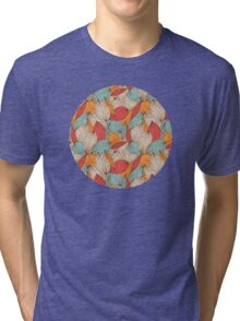 Romantic leaves Tri-blend T-Shirt