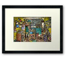 Bicycle Clinic Framed Print