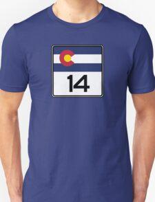 State Highway 14, Colorado, USA Unisex T-Shirt