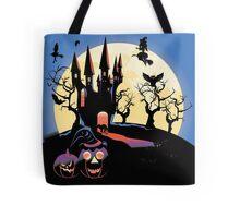 Haunted Halloween Castle 2 Tote Bag