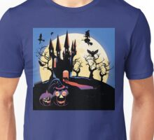 Haunted Halloween Castle 2 Unisex T-Shirt