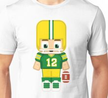 American Football Green and Yellow Unisex T-Shirt