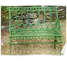 The Green Garden Seat Poster
