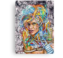 Lady Apocalypse Canvas Print
