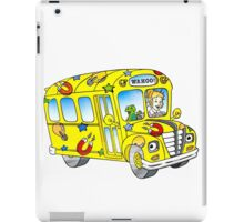 The magic school bus iPad Case/Skin