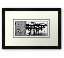 On the Beach #21 Framed Print