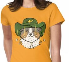 Australian Shepherd Dog Womens Fitted T-Shirt