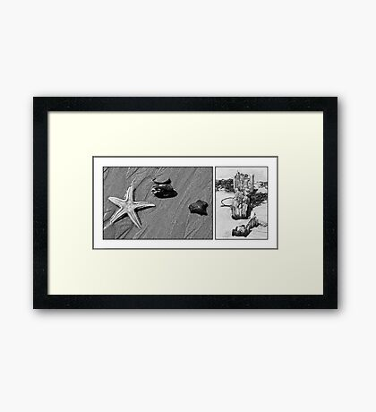 On the Beach #22 Framed Print