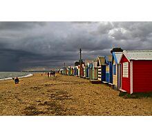 Brighton Beach, Melbourne Victoria Photographic Print