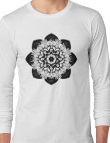 Fractal Mandala Long Sleeve T-Shirt