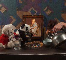 Tea Party (Glass & Metal Study) - Studio Lighting Class/Photography by Jackie Aceto