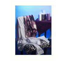 The Dressing Room (White/Light Tonal Study) - Studio Lighting Class/Photography Art Print