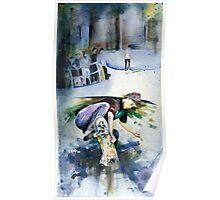 Venice Skater Poster