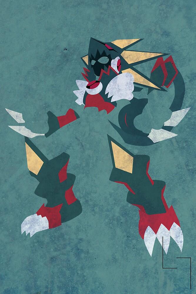 Gregar Beast Out by jehuty23