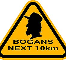 Bogans next 10km (triangle) by Diabolical