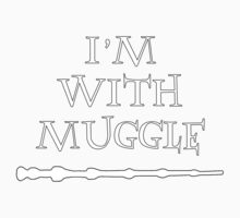 im with muggle Kids Tee