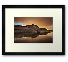 More or Less Framed Print