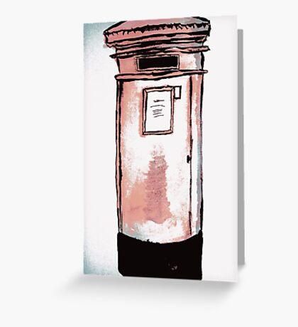 Postbox Greeting Card