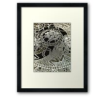 Lace Ladies Framed Print