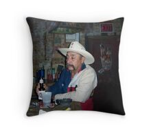 Does He Say Texas Drunk LOL Throw Pillow