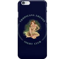 Tropicana Lounge Hula Girl 3 iPhone Case/Skin
