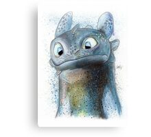 Garish Toothless Canvas Print