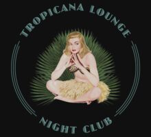 Tropicana Lounge Hula Girl 4 by Frank Schuster