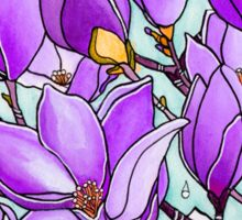 Spring Delight ~ Lilac Magnolias Sticker