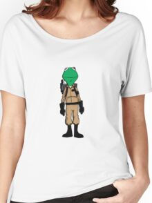 Ghostbuster Frog Women's Relaxed Fit T-Shirt
