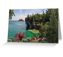2314-Stable Waters Greeting Card