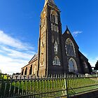 St Joseph's Catholic Church. Warrnambool. Victoria, Australia. by Ralph de Zilva