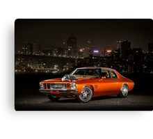 James' Holden HQ Monaro Canvas Print
