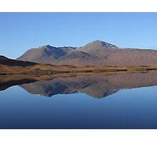 Black Mount , the Highlands , Scotland Photographic Print