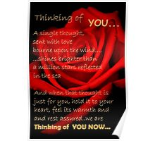 A SINGLE THOUGHT Poster