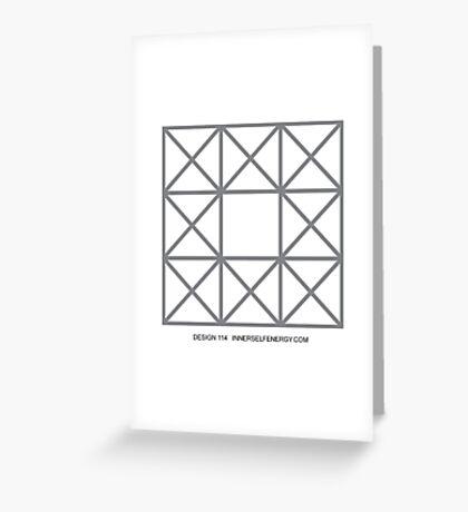 Design 114 Greeting Card