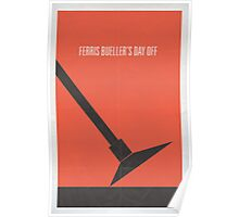 Ferris Buellers Day Off minimalist poster Poster
