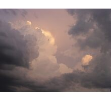 Storms A Brewin' Photographic Print
