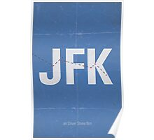 JFK minimalist poster Poster