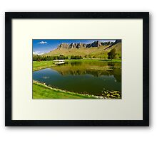 Te Mata Peak Framed Print