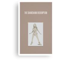 Shawshank Redemption minimalist poster Canvas Print