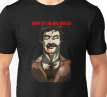 Night of the 80's Undead - Zom Selleck Unisex T-Shirt