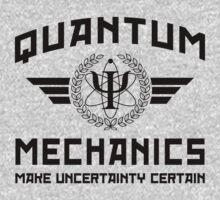 QUANTUM MECHANICS by GUS3141592