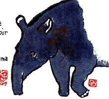 The Tapir by dosankodebbie