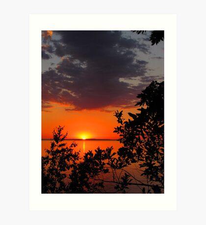 Superior Sunset Art Print