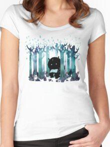 A Quiet Spot Women's Fitted Scoop T-Shirt